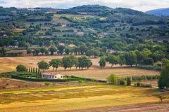 Umbrië, Italië royalty-vrije stock fotografie