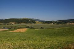 Umbria hills Royalty Free Stock Images