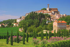 umbria idylliczna wioska obrazy stock