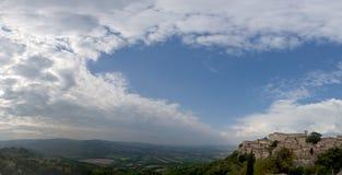 Umbria, Italy Todi  huge panorama Stock Photos