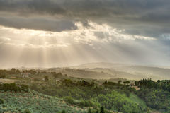 Umbria landscape, Italy Stock Photo