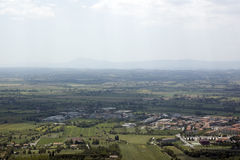 Umbria Landscape, italy. Landscape near cortona Royalty Free Stock Images