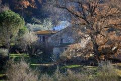Umbria rural house Royalty Free Stock Photo
