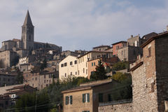 Umbria town Royalty Free Stock Photography