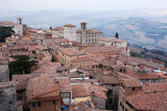 Umbria town stock photography