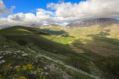 Umbria Valley And Mountains Royalty Free Stock Images
