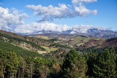Umbrian backcountry in winter, Umbria, Italy Royalty Free Stock Photo