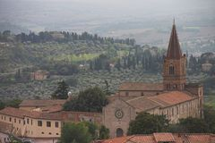 Umbrian Countryside, Italy. Stock Photo