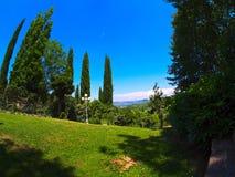 Umbrian garden Stock Photos