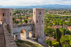 Umbrian town of Spello, Italy Stock Photography