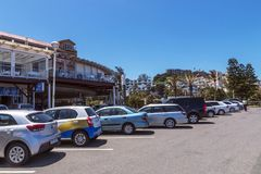 Umhloti Coastal Beachfront Landscape  Durban South Africa Royalty Free Stock Photo