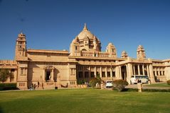Umed Bhawan στο Jodhpur, Rajasthan, Ινδία στοκ φωτογραφίες με δικαίωμα ελεύθερης χρήσης