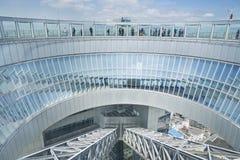 Umeda天空大厦在大阪,日本 免版税库存照片
