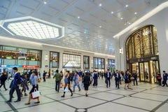 Umeda-Anschluss Untertage stockfotografie