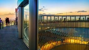Umeda nieba budynek w Osaka Fotografia Royalty Free