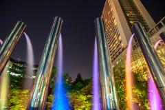 Umeda Sky Building Fountains Stock Images