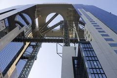 Umeda Sky Building's bottom of the observatory Royalty Free Stock Images