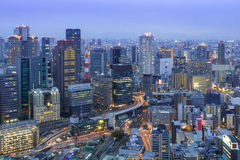 Umeda Skyline Osaka, Japan Royalty Free Stock Photos