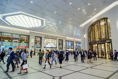 Umeda terminal underground Stock Photography