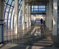 Umfaßter Fußgängerübergang lizenzfreies stockfoto