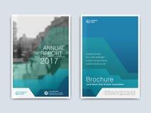 Umfassen Sie annnual Bericht des Designs, Flieger, Darstellung, Broschüre Stock Abbildung