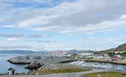 Umgebung von Hammerfest stockfotos