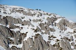 Umgebungen des französischen Skiorts Pierre Saint Martin Stockfoto