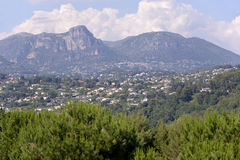 Umgebungen des Heiligen Paul de Vence in Frankreich Lizenzfreie Stockfotos