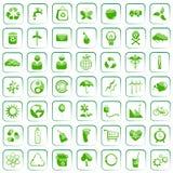 Umgebungs-Ikone Lizenzfreie Stockfotos