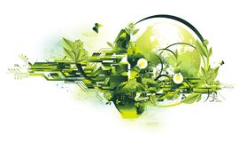 Umgebungs- und Energiekonzept Stockfotos