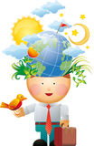 Umgebungsgedanke Stockbilder