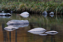 Umgekehrtes Bild des Steins Stockfotos