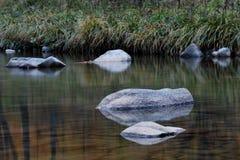 Umgekehrtes Bild des Steins Stockbilder