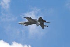 Umgekehrtes F-18 Stockbild