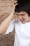 Umgekippter Chef Lizenzfreies Stockfoto