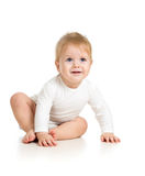 Umgekipptes Baby Stockfotos