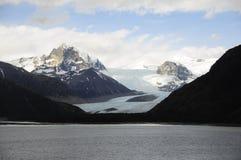 Umhang-Hupen-Gletscher Lizenzfreie Stockfotos