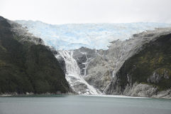 Umhang-Hupen-Gletscher Stockfotografie