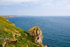 Umhang Kaliakra, Bulgarien lizenzfreies stockbild