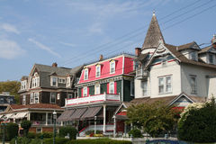 Umhang mag beliebter Erholungsort Jersey-USA Stockbilder