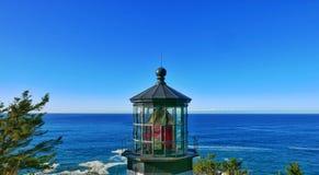 Umhang Meares Leuchtturm Stockfotografie