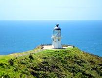 Umhang Reinga Leuchtturm, Neuseeland Lizenzfreies Stockfoto