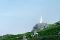 Umhang-Stangen-Leuchtturm Stockfotografie