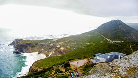 Umhangpunkt, Kapstadt, Südafrika lizenzfreie stockfotografie