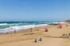 UMhlanga Beach in Durban South Africa Royalty Free Stock Image
