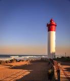 Umhlanga-Leuchtturm Stockfotos