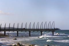 Umhlanga oscila el embarcadero Imagen de archivo libre de regalías