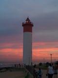 Umhlanga Rocks light house. Stock Photography