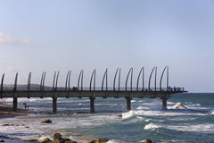 Umhlanga Rocks Pier Royalty Free Stock Image