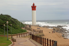 Umhlanga Rocks, South Africa. Promenade in Umhlanga Rocks not far from Durban, South Africa Royalty Free Stock Photos